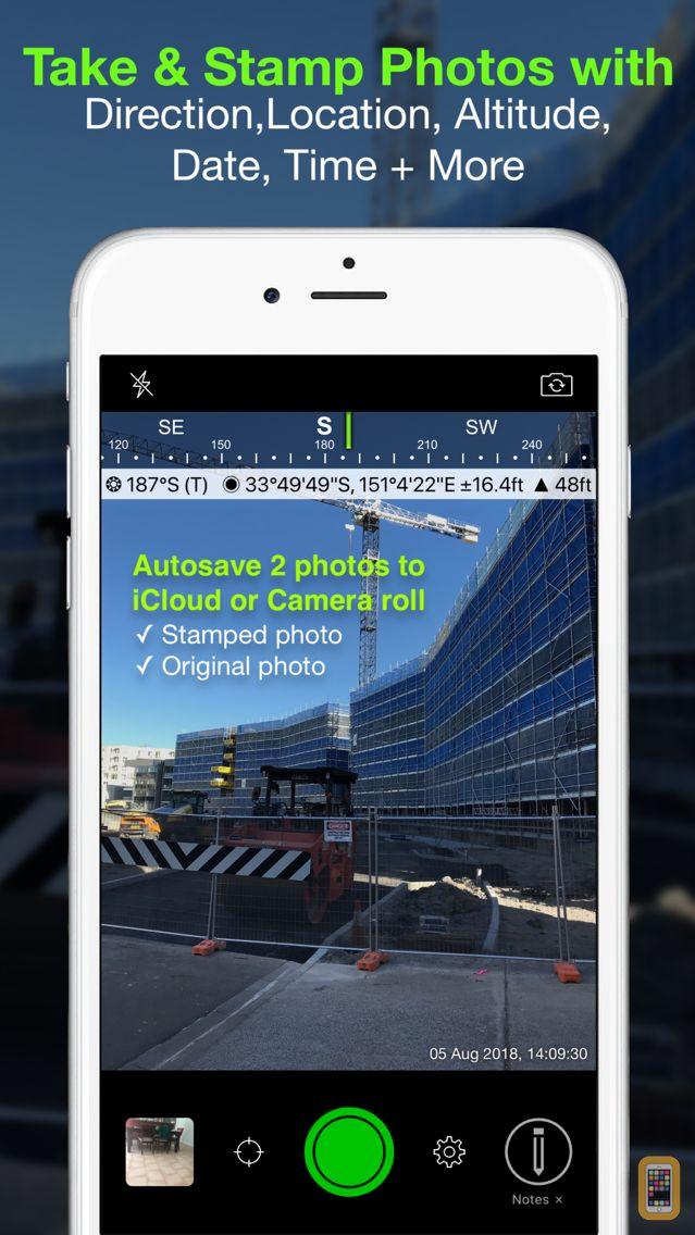 Screenshot - Solocator - GPS Field Camera