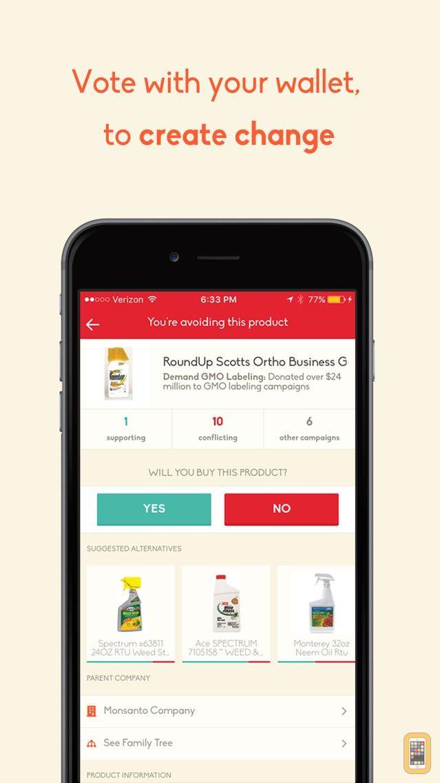Screenshot - Buycott - Barcode Scanner & QR Bar Code Scanner