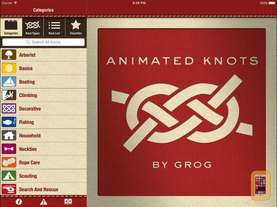 Screenshot - Animated Knots by Grog HD
