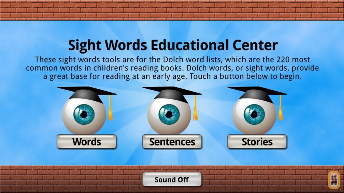 Screenshot - Sight Words Educational App