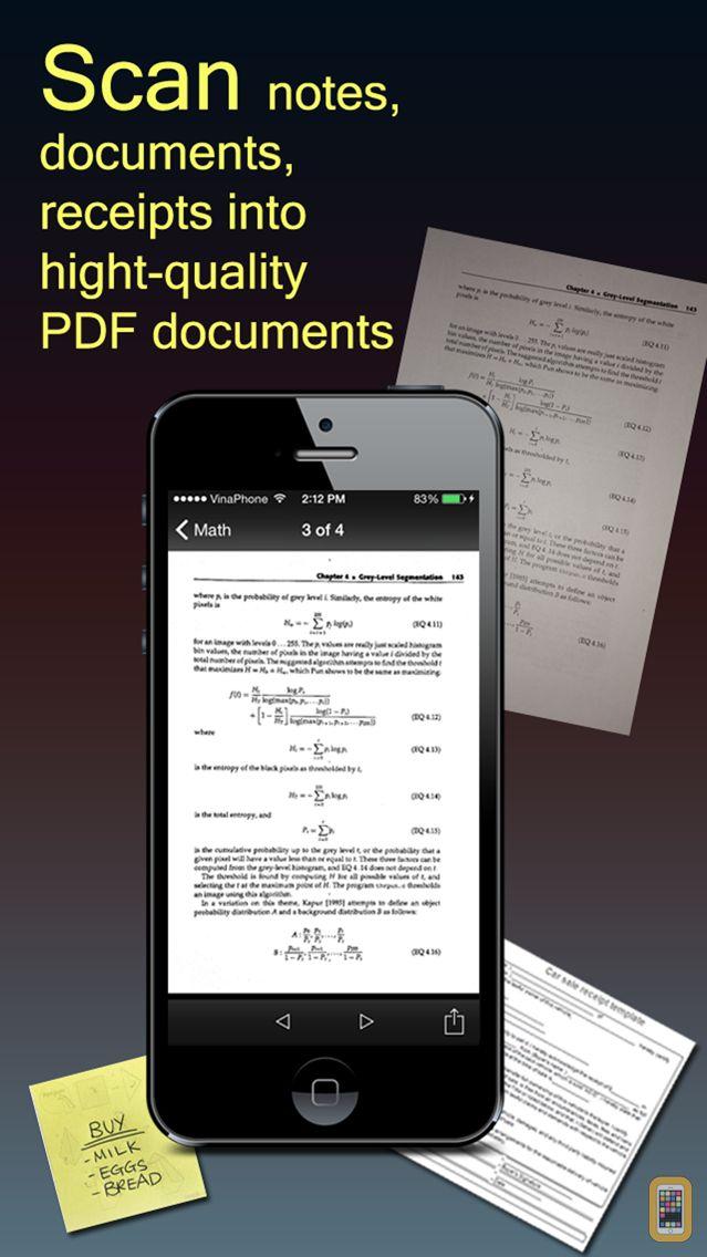 Screenshot - Fast Scanner Pro: PDF Doc Scan