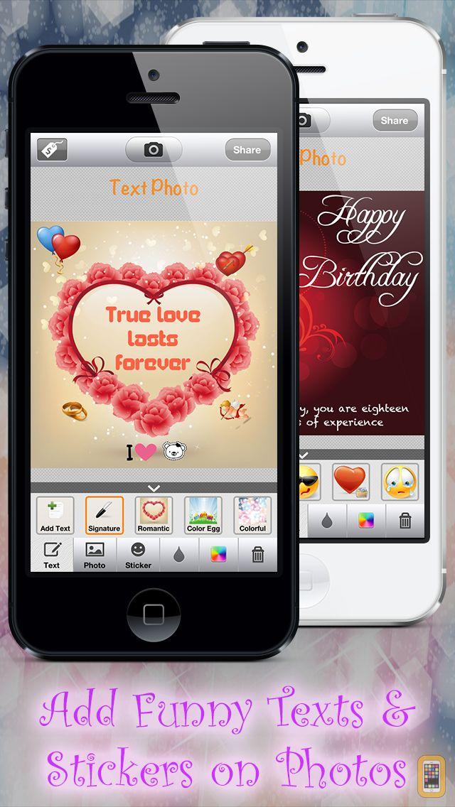 Screenshot - TextPhoto - Texting for Instagram & Facebook