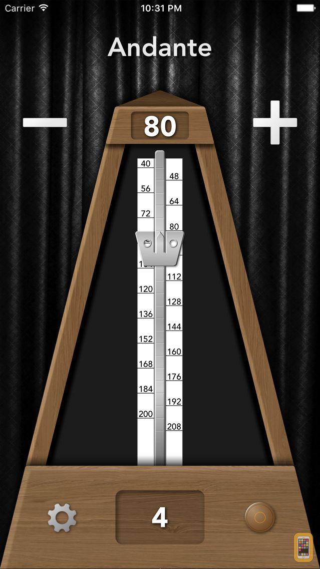 Screenshot - TrueMetronome Lite