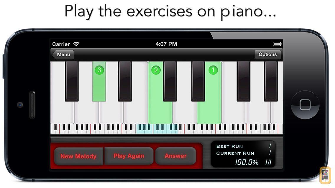 Screenshot - goodEar Melodies - Ear Training