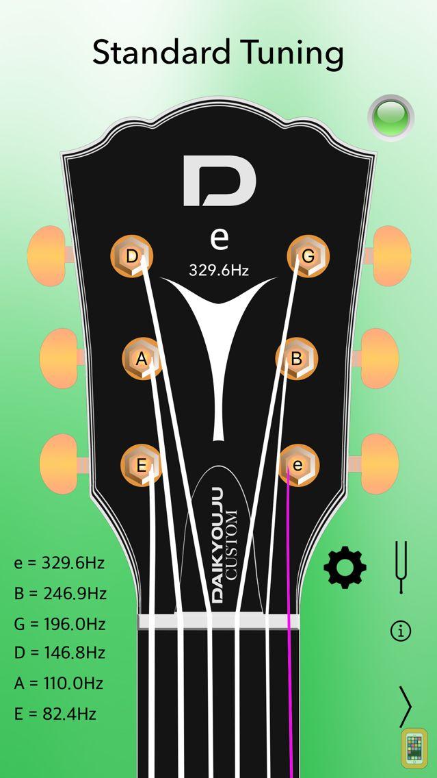 Screenshot - Acoustic Guitar Tuner Pro