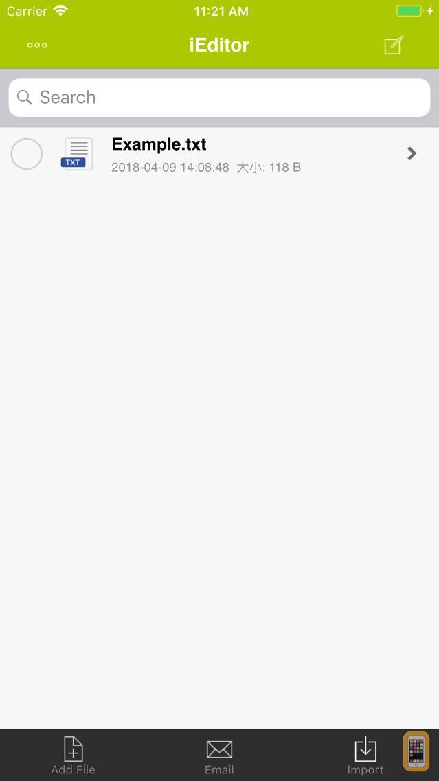 Screenshot - iEditor Pro – Text Code Editor