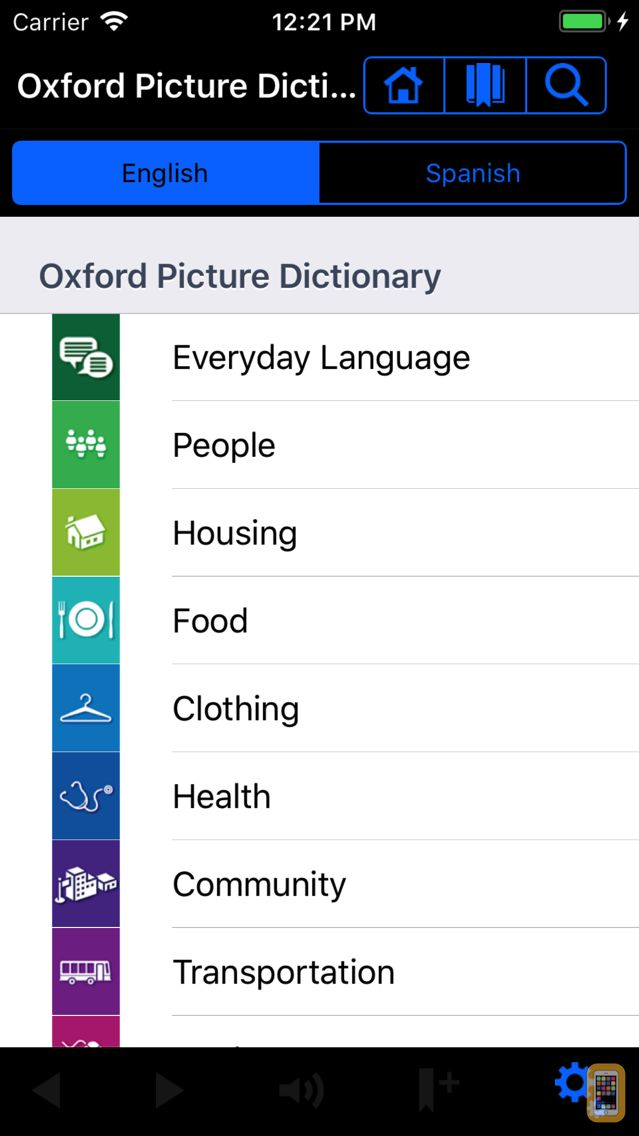 Screenshot - Oxford Picture Dictionary