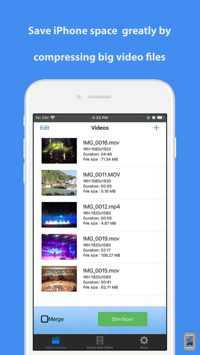 Screenshot - Video Slimmer App
