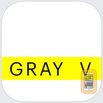 Gray V by Sauce Industries LLC (iPhone)