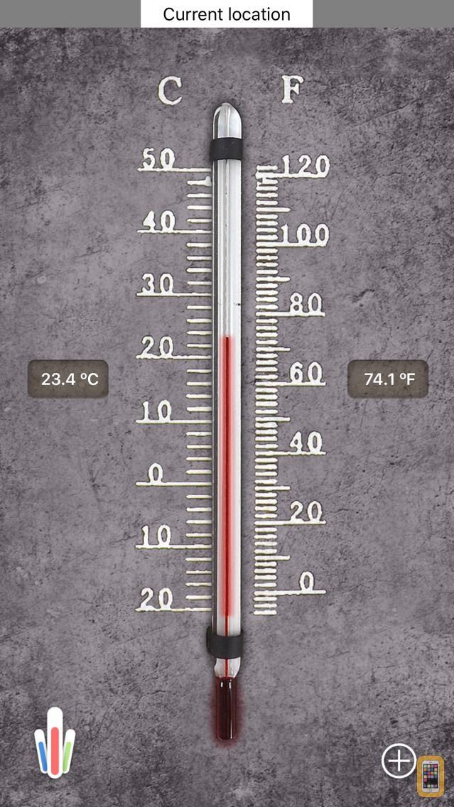Screenshot - HD Thermometer ⊎