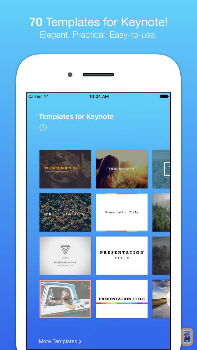 Screenshot - Templates for Keynote (Nobody)