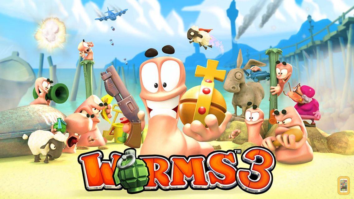 Screenshot - Worms3