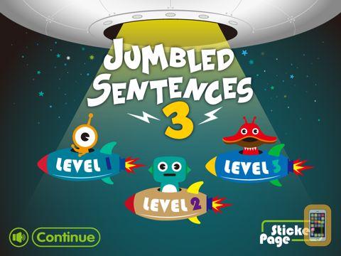 Screenshot - Jumbled Sentences 3