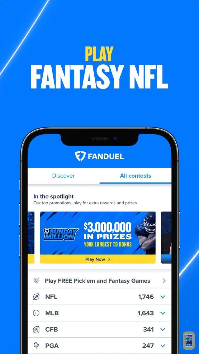 Screenshot - FanDuel Fantasy Football