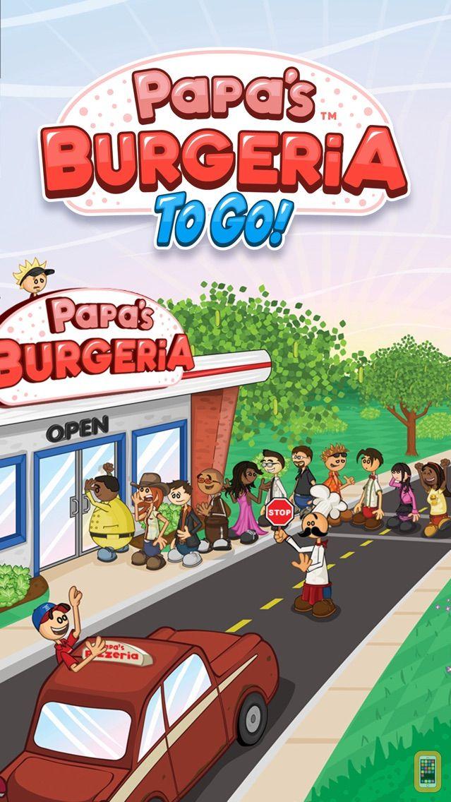 Screenshot - Papa's Burgeria To Go!