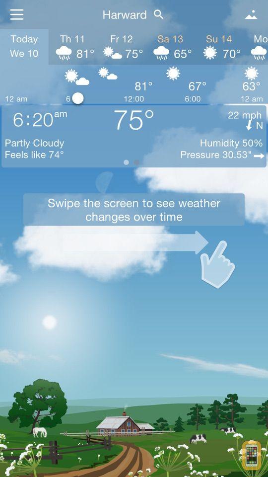 Screenshot - YoWindow Weather