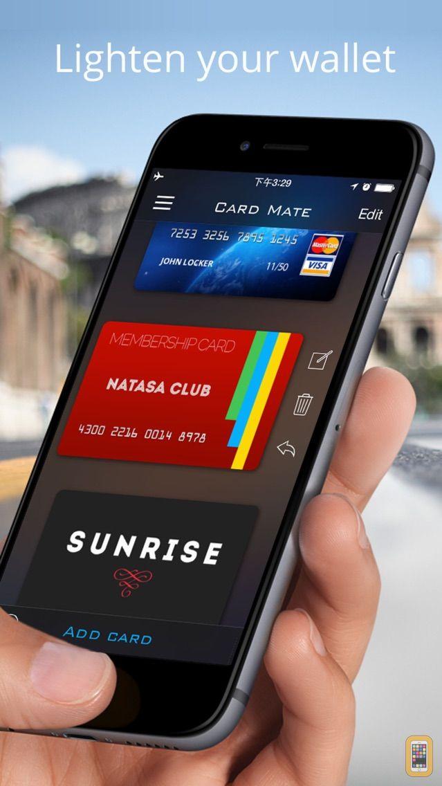 Screenshot - Card Mate Pro- credit cards
