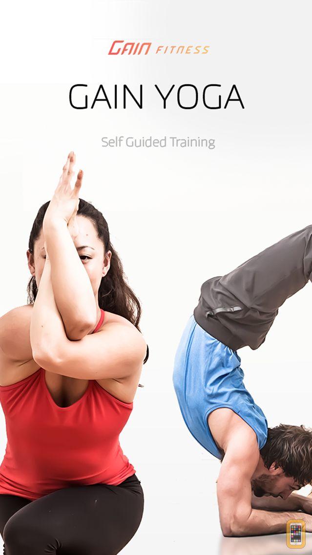 Screenshot - GAIN Yoga - custom, guided yoga practices for meditation, flexibility and fat loss