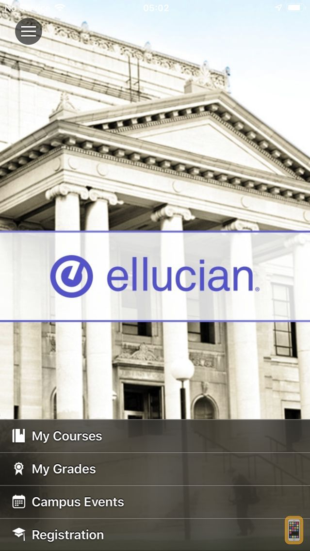 Screenshot - Ellucian GO
