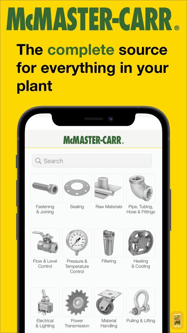 Screenshot - McMaster-Carr