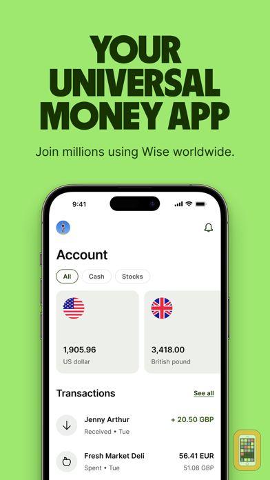 Screenshot - TransferWise