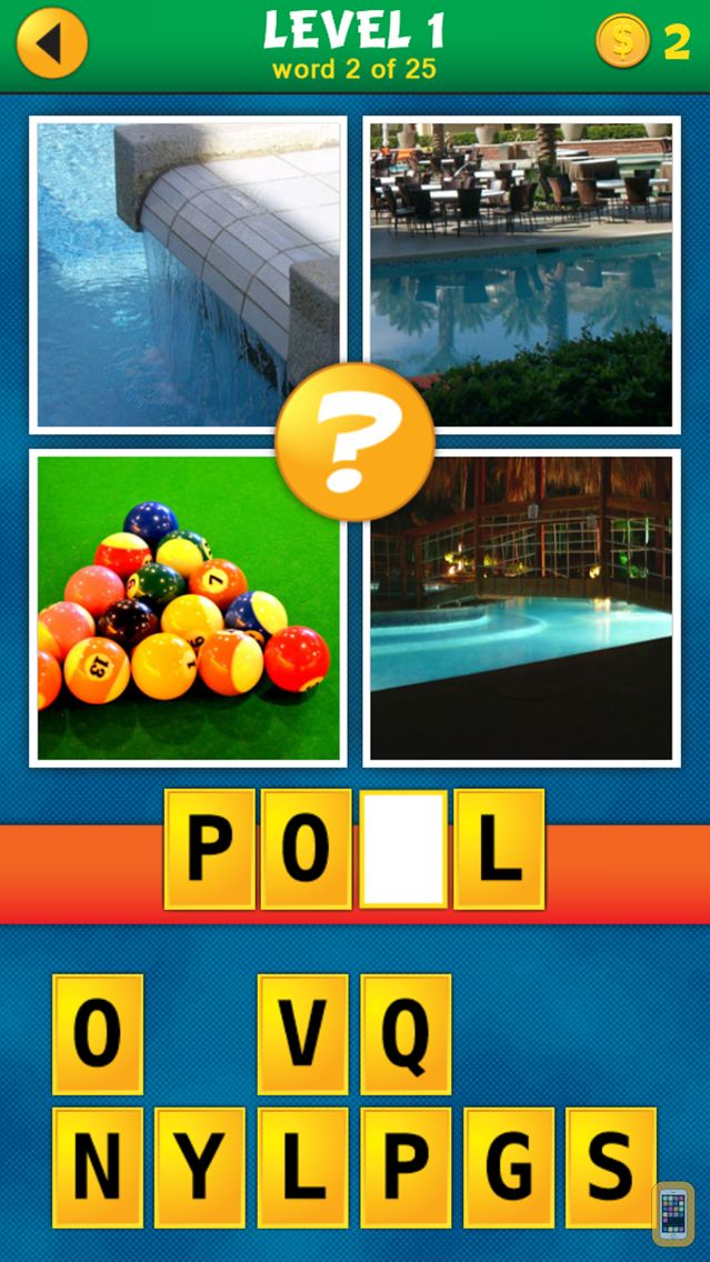 Screenshot - 4 Pics 1 Word Puzzle: What's That Word?