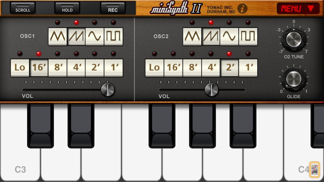 Screenshot - miniSynth 2