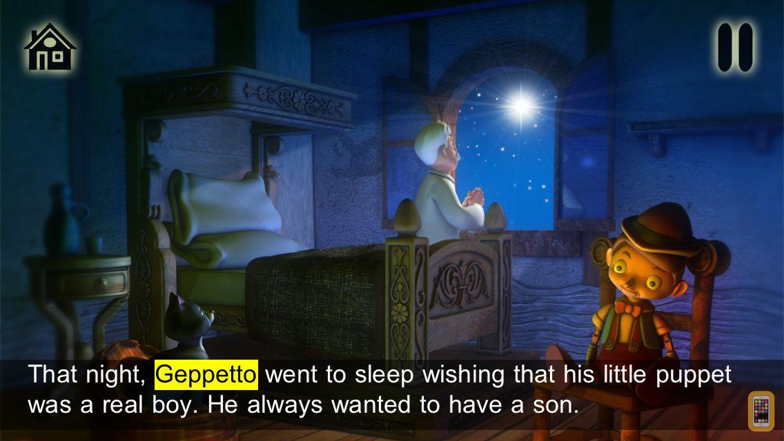 Screenshot - Pinocchio - Book & Games (Lite)