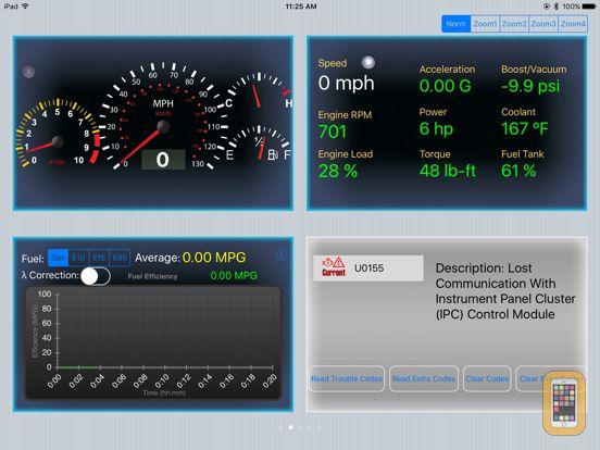 Screenshot - Engine Link HD -OBD II vehicle monitor & diagnosis
