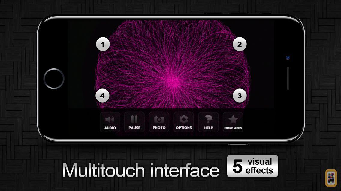 Screenshot - Gravity - Light Particles Manipulation App
