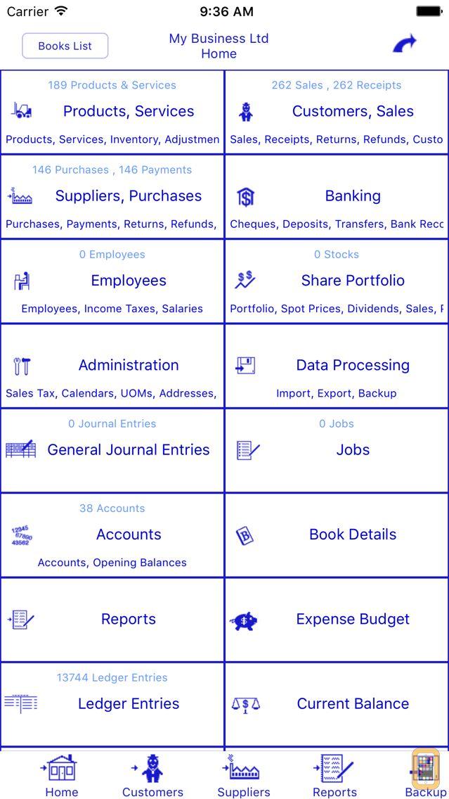 Screenshot - Bookkeeping Pro