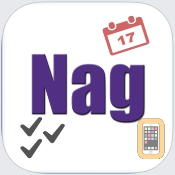 Nag - Repeating Alerts for Events + Tasks by Appiplayer Software (Universal)