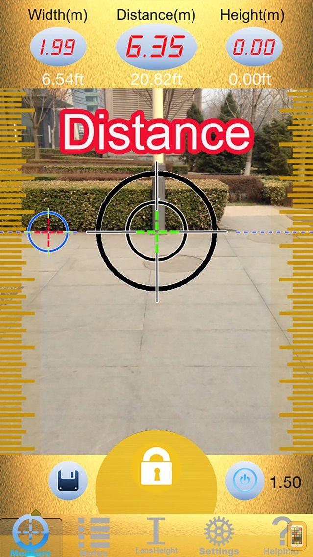 Screenshot - Laser Tape Measure