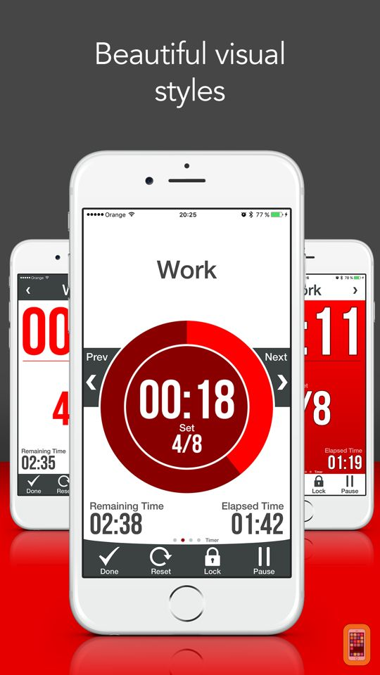 Screenshot - HIIT & Tabata Interval Timer Pro