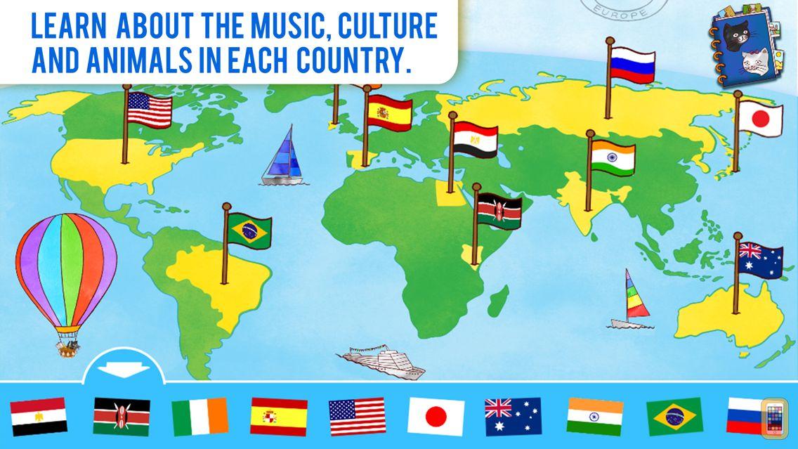 Screenshot - Jazzy World Tour - Learn Music