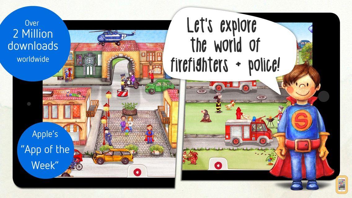 Screenshot - Tiny Firefighters - Kids' App