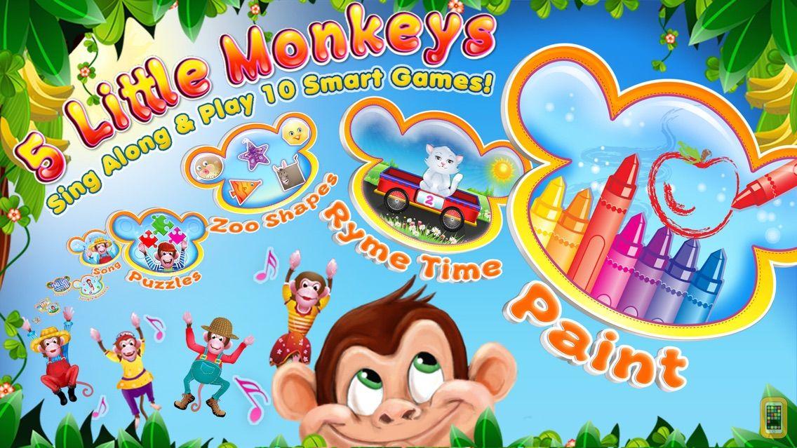 Screenshot - 5 Little Monkeys: Songs & More