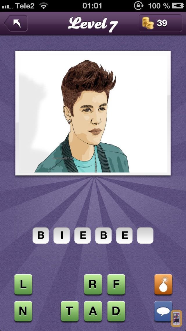 Screenshot - Guess The Celeb - new and fun celebrity quiz game!