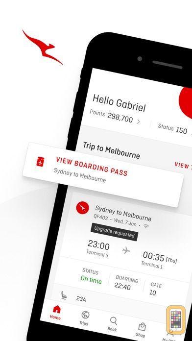 Screenshot - Qantas Airways