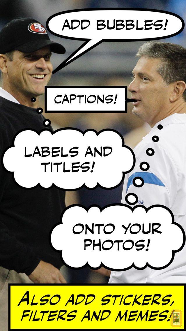Screenshot - Comic Caption Meme Maker