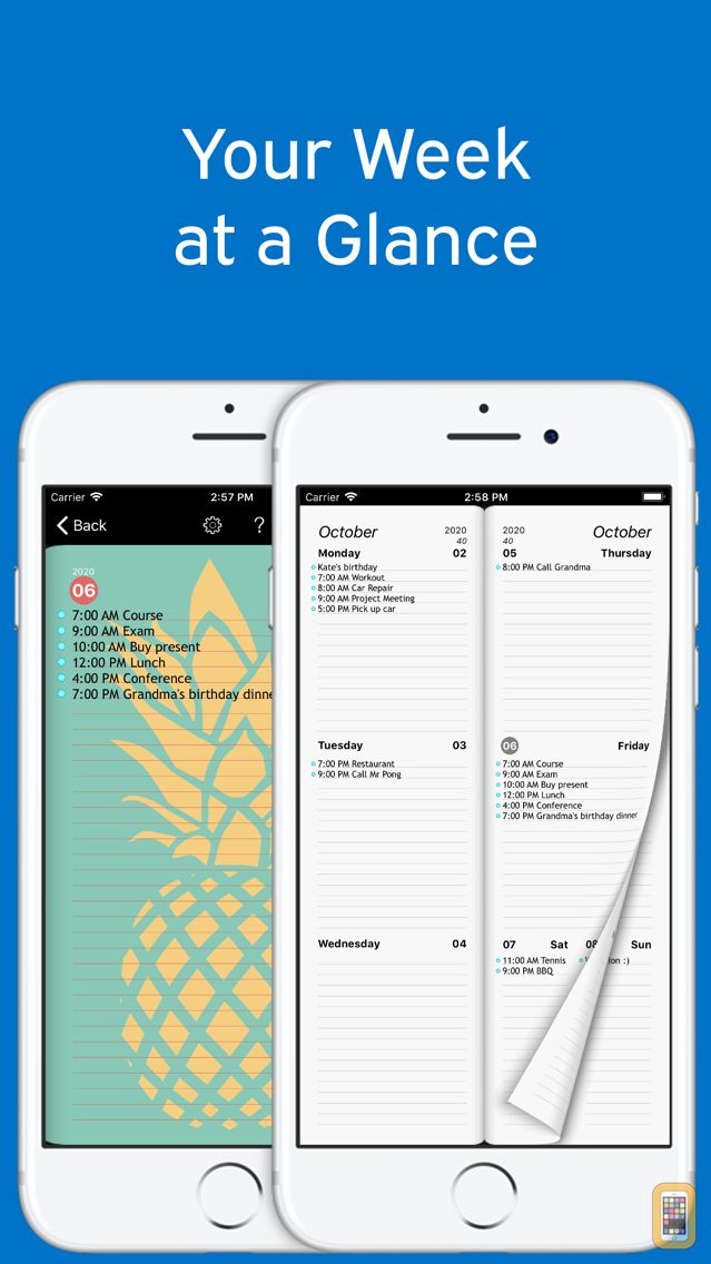 Screenshot - Week Agenda Ultimate
