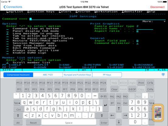 Screenshot - TTerm Pro