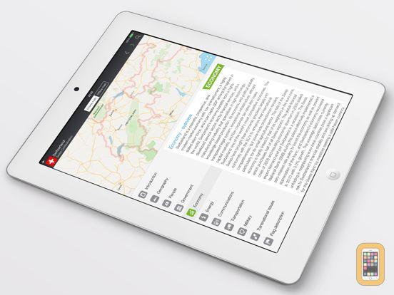 Screenshot - World Factbook & Atlas HD