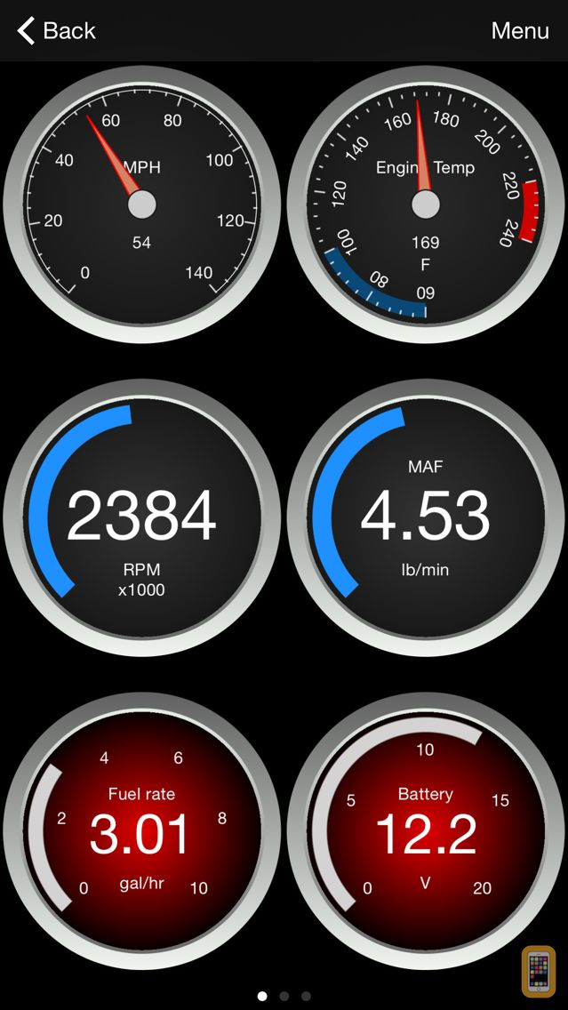 Screenshot - OBD Fusion