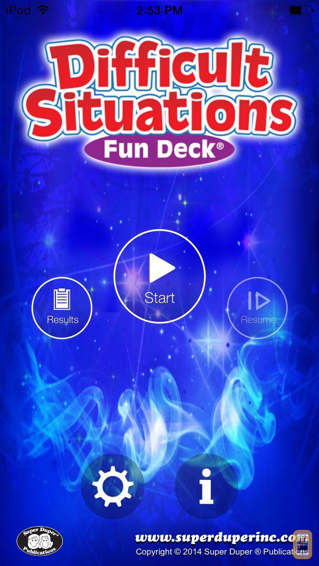 Screenshot - Difficult Situations Fun Deck