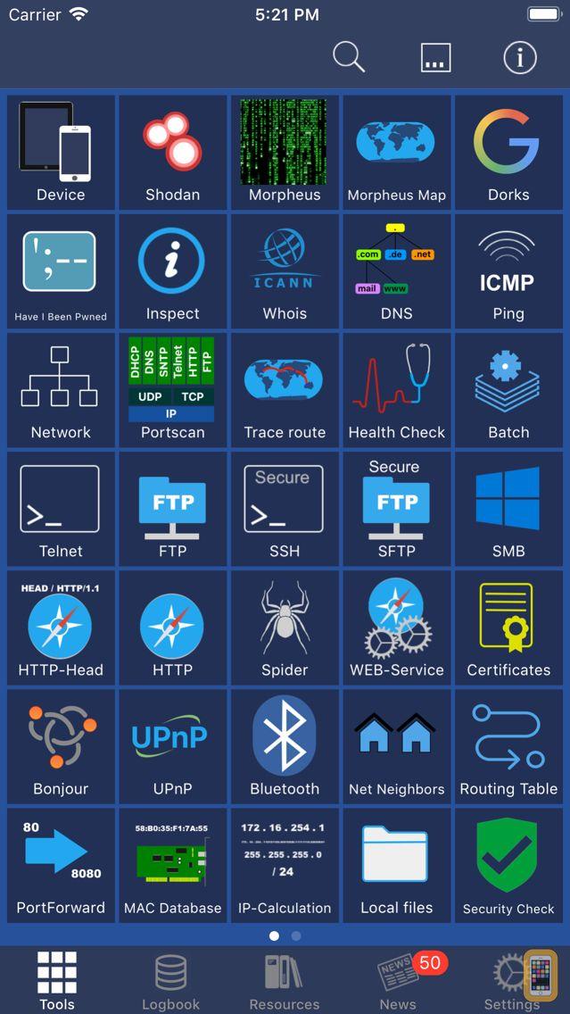 Screenshot - Network Toolbox Net security