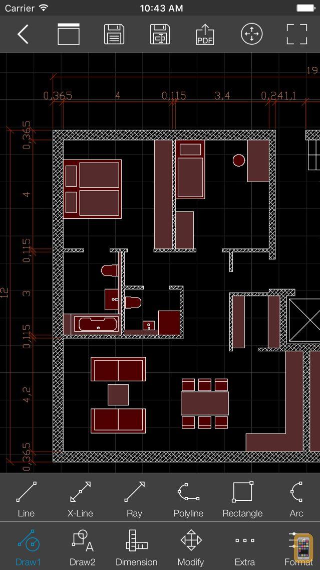 Screenshot - biiCADo Pro - 2D CAD App