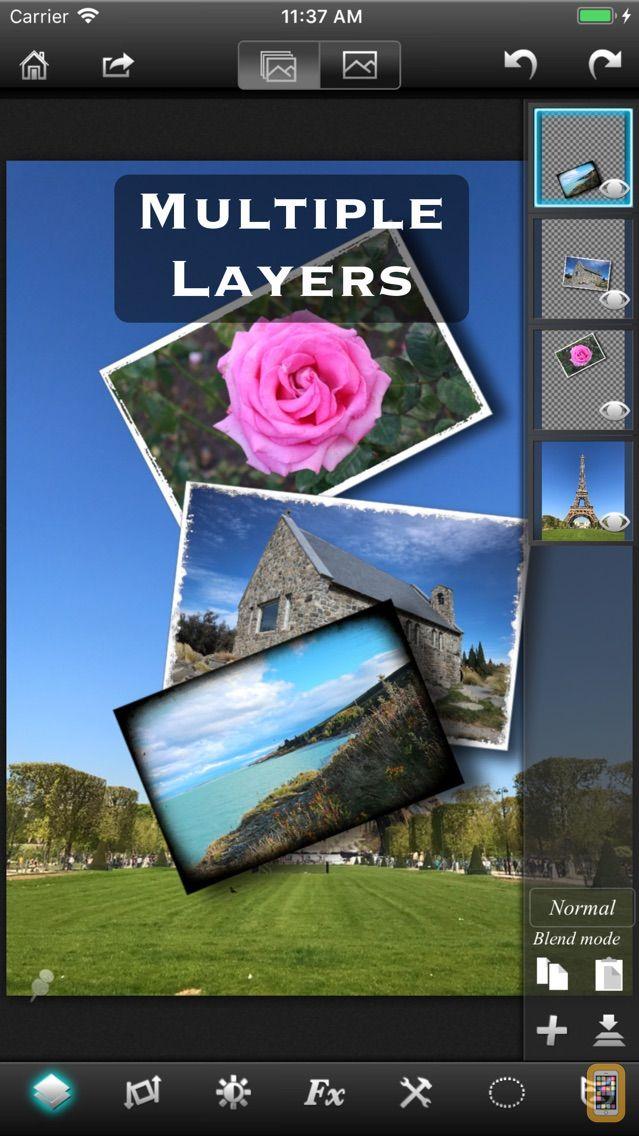 Screenshot - Leonardo - Photo Layer Editor