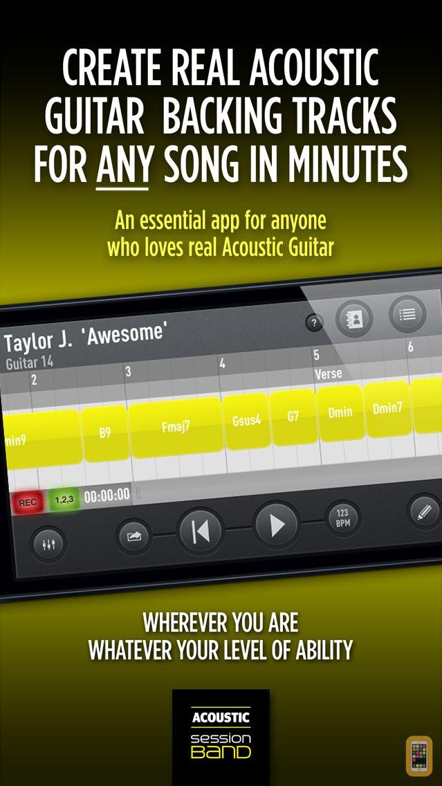 Screenshot - SessionBand Acoustic Guitar - Volume 1