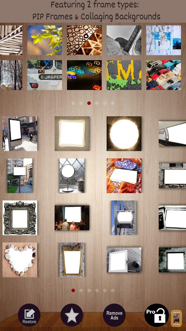 Screenshot - Frames Creative PIP in Photo